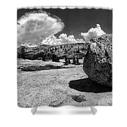 Round Rock Yosemite Shower Curtain