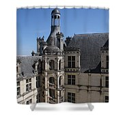 Round Stairway Shower Curtain
