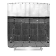 Roundhouse Depot Shower Curtain