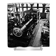 Roundhouse Working No. 3 Shower Curtain
