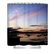 Roundstone Harbour Shower Curtain