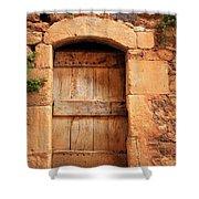 Roussillon Door Shower Curtain