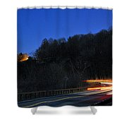 Route 6 Blur Shower Curtain