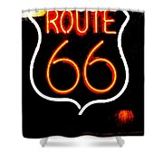 Route 66 2 Shower Curtain
