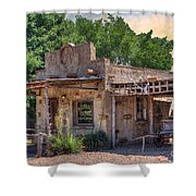 Route 66 - A Stroll Through The Past  Shower Curtain