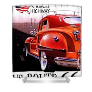 Route 66 America's Highway Shower Curtain