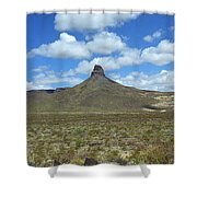 Route 66 - Arizona Mountain Shower Curtain