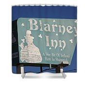 Route 66 - Blarney Inn Shower Curtain