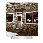 Route 66 Cafe 8 Shower Curtain