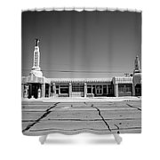Route 66 - Conoco Tower Station 4 Shower Curtain