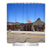Route 66 - Cool Springs Camp Shower Curtain