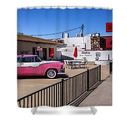 Route 66 Diner Shower Curtain