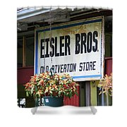 Route 66 - Eisler Brothers Old Riverton Store Shower Curtain