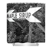 Route 66 - Funk's Grove Sirup Shower Curtain