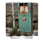 Route 66 Gas Pump - Adrian Texas Shower Curtain