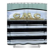 Route 66 Gmc Shower Curtain