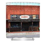Route 66 - Hardware Store Erick Oklahoma Shower Curtain