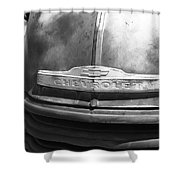 Route 66 - Old Rusty Chevy Shower Curtain