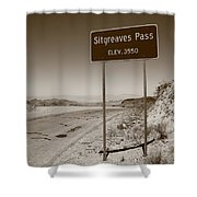 Route 66 - Sitgreaves Pass Shower Curtain