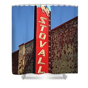 Route 66 - Stovall Theater Shower Curtain
