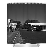 Route 66 - Western Motel 8 Shower Curtain