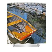 Row Boat Shower Curtain