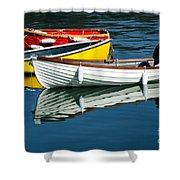 Row-boats Shower Curtain
