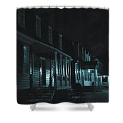 Row Homes Shower Curtain
