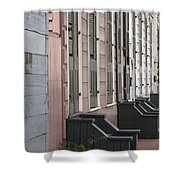 Row Of Houses II Shower Curtain