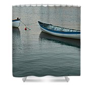 Rowboats Shower Curtain