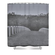 Rows Of Heroes Shower Curtain