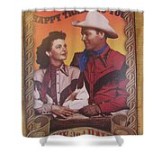 Roy And Dale Shower Curtain