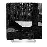 Roy Hill Mill Lewiston Maine Shower Curtain