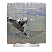 Royal Air Force Typhoon Fgr4 Shower Curtain
