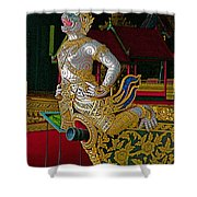 Royal Barges Museum In Bangkok-thailand Shower Curtain