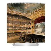 Royal Circus From Ackermanns Repository Shower Curtain by T. & Pugin, A.C. Rowlandson
