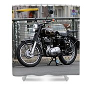 Royal Enfield 2 Shower Curtain