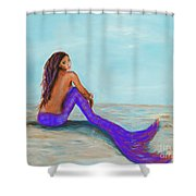 Royal Mermaid Shower Curtain