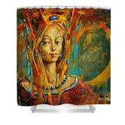 Royal Muse Shower Curtain
