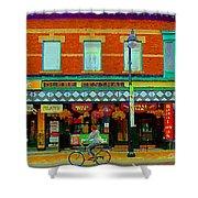 Royal Oaks British Pub Hillarys And Pc Perfect Glebe Central Paintings Of Ottawa Scenes C Spandau Shower Curtain