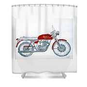 Royal Oil Shower Curtain