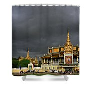 Royal Palace Cambodia Shower Curtain