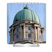 Royal Palace Dome In Budapest Shower Curtain
