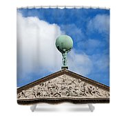 Royal Palace In Amsterdam Architectural Details Shower Curtain