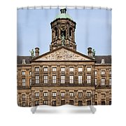 Royal Palace In Amsterdam Shower Curtain