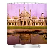 Royal Pavilion In Brighton England Shower Curtain