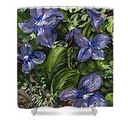 Royal Purple Shower Curtain