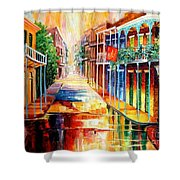 Royal Street Reflections Shower Curtain
