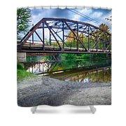 Rt 106 Bridge Shower Curtain