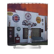 Rt 66 Dwight Il Roadside Attraction Shower Curtain